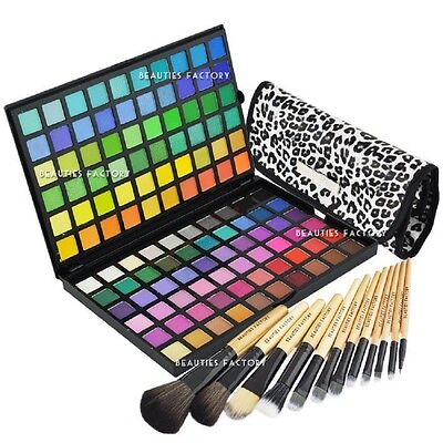 120 Colour Eye Shadow Makeup Cosmetic Shimmer Matte Eyeshadow Palette #89C#177Q