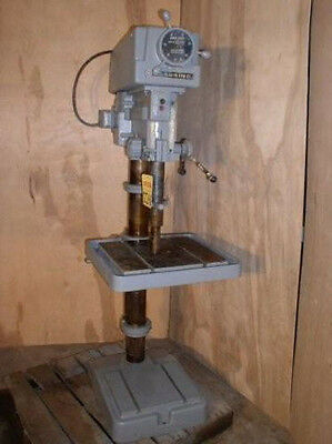 "20"" CLAUSING Variable Speed Drill Press; Floor Model; #4 MT; 1 HP"