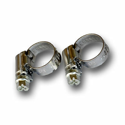 Adjustable 8-16mm Jubilee Clamp Pipe Clips Water / Gas Hose