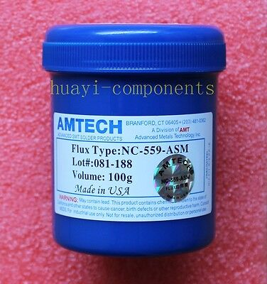 100g Amtech BGA NC-559-ASM Flux paste ROHS NEW