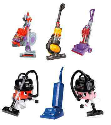 Casdon Hoovers Working Suction Real Life Looking Toy Vacuum Cleaners Games Kids