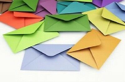 5x7 Diamond Flap Greetings Envelopes - 100 gsm - lots of colours available!