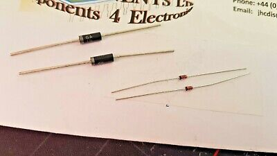 1N ZENER DIODES 5 WATT/ 1 WATT / 500ma     VARIOUS DROP DOWN (Packs of 2 )