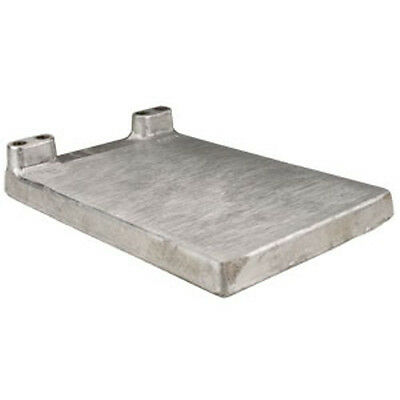 Two Beer Jockey Box Cold Plate.  No fittings