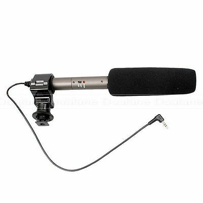 Mic SG209 DV Stereo Electret Condenser Microphone for Equipped Digital Camera