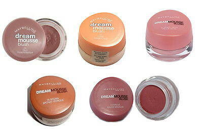Maybelline Dream Mousse Blush - Available in 5 Shades.