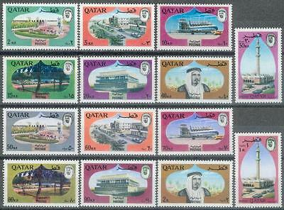 Qatar 1966 ** Mi.274/87 Freimarken Definitives
