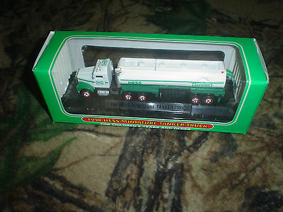 Lot of 2 Hess Miniatures: 1998 Tanker Truck & 1999 Fire Truck New Original Boxes