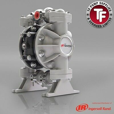 "1/2"" ARO Ingersoll-Rand Air Diaphragm Pump (Poly/PTFE) 