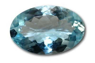 Aigue-marine naturelle 5.38 carats