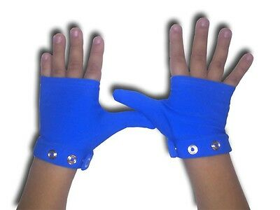 Blue Thumb Guard Glove for Stopping Thumb Sucking | The Original Glovey Huggey