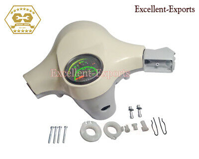 VESPA PX125 PX150 PE P200 LML HEADSET LOWER SPEEDOMETER 80 mm AND SHELL P1370
