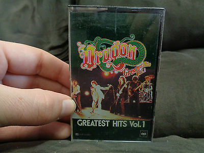DRAGON_Greatest Hits vol 1_used cassette_ships from AUSTRALIA!_z5
