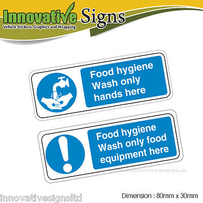 Food hygiene prevent cross contamination kitchen rules 2 - Stickers protection cuisine ...