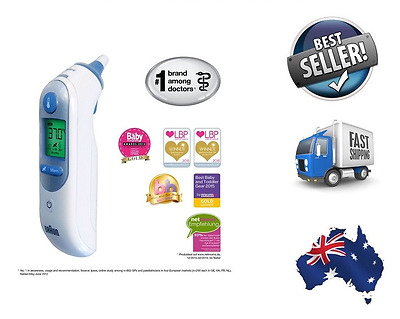 NEW! Braun ThermoScan 7 IRT6520 Baby/Adult Professional Digital Ear Thermometer