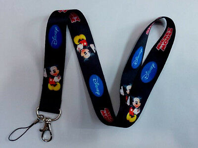 Lot Disney Mickey neck mobile Phone lanyard Keychain straps charms Gifts L01