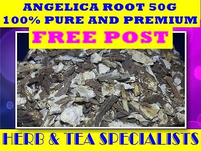 ANGELICA ROOT 50g Angelica archangelic ☆DREID HERB☆ PREMIUM STOCK ☆ FREE POST
