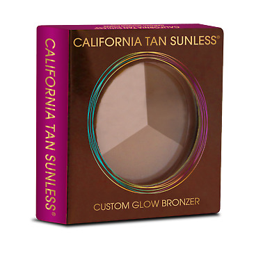 California Tan Bronzing Powder With Mirror Sunless Sun Kissed Face Bronzer - 10g