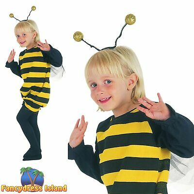 KIDS CUTE BUMBLE BEE BUZZY - Age 2-3 - boys girls toddler fancy dress costume
