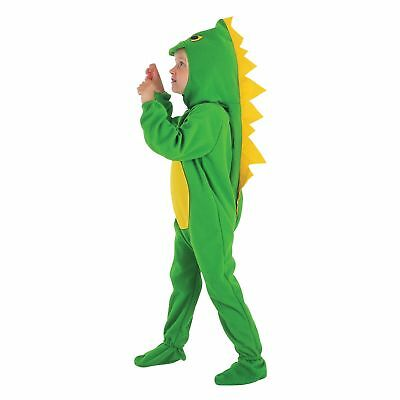 KIDS DINOSAUR JURASSIC MONSTER DRAGON - Age 2-3 - boys child fancy dress costume