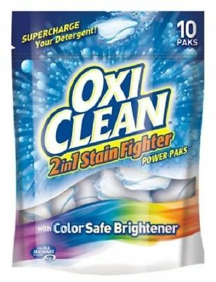 Oxi Clean 2-in-1 Stain Fighter Power Paks with Color Safe Brightener