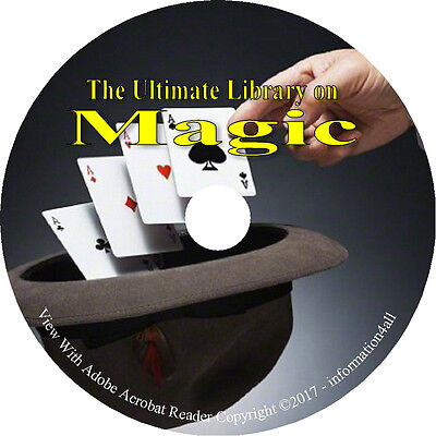 73 Books on DVD – Ultimate Library on Magic, Tricks, Magicians, Conjuring, Houdi
