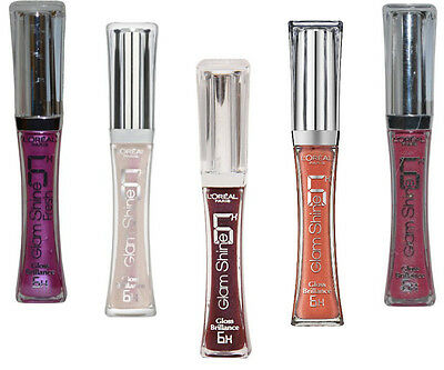 L'Oreal Glam Shine 6H Gloss Brilliance LipGloss 6ml- Available in New 12 Shades.