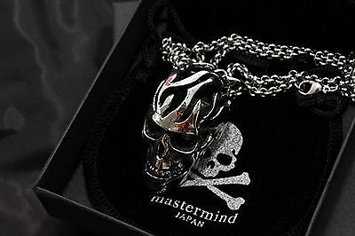 Free Ship!Mastermind japan MMJ skull necklace nice jewelry NEW SALE~as As a gift