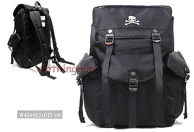 NEW Mastermind Japan MMJ Canvas travel & casual backpack head porter FREE SHIP