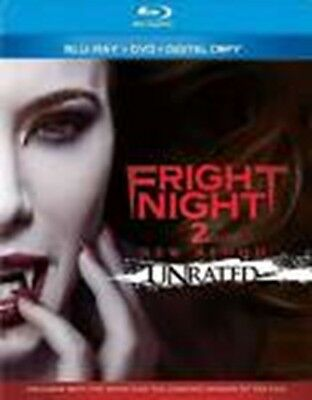 Fright Night 2: New Blood (Blu-ray/DVD, 2013, 2-Disc Set, Unrated) #Z4R