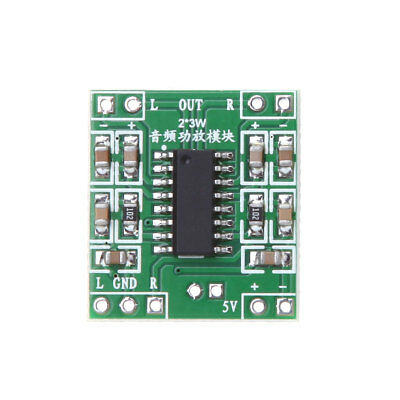 3W Digital Power D Audio Amplifier Board Amplifier Module New DC 5V 2 Channels
