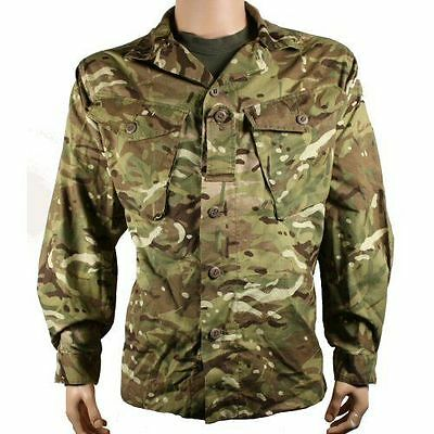 Genuine British Army Issue Multicam Camo Combat Shirt / Jacket MTP All Sizes