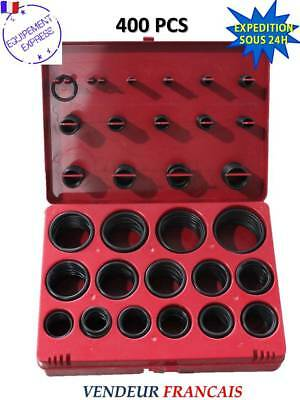 Rupture de Stock : COFFRET ASSORTIMENT 400 JOINTS TORIQUES 3-48 mm