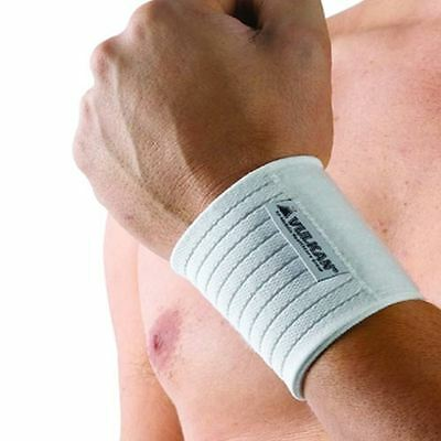 Vulkan Wrist Wrap 7313 Elasticated Support Brace Strap Guard Sports Injury Pain