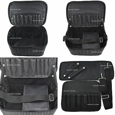 BF Large Space Black Beauty Make up Nail Tech Cosmetic Box Vanity Case NEW 339