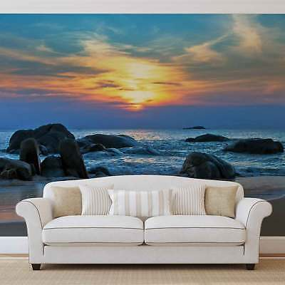 WALL MURAL PHOTO WALLPAPER PICTURE (170VE) Sea Beach Sand Landscape