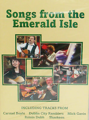 Songs From the Emerald Isle DVD IRISH LIVE CONCERT,ROISIN DUBH,DUBLIN CITY,NEW!