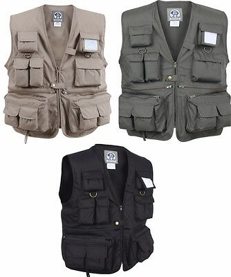 Rothco Uncle Milty's Multi Pocket Travelers Fishing Photography Vest