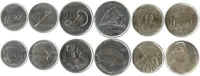 Fidschi 5, 10, 20, 50 Cents 1, 2 Dollars 2012