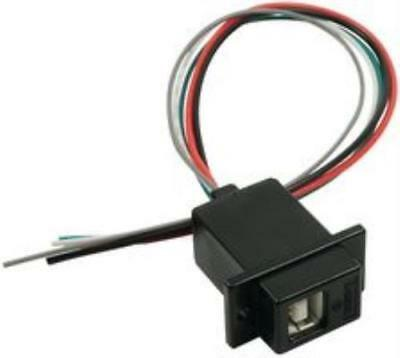 89M9527 L-Com Ecj504B-Ub I/O Connector, Usb B, Jack, 4Pos, 10In Wire Leads