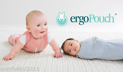 ergoPouch 0.2 TOG ergoCocoon baby summer swaddle sleeping bag, 0-3m and 3-12m