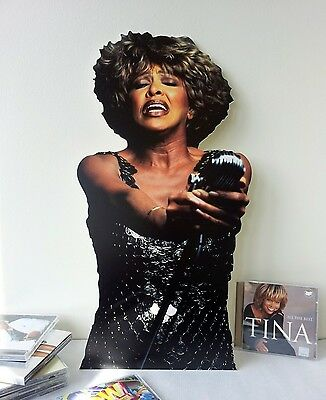 Tina Turner Display Stand Up Standee NEW Love Songs The Best Proud Mary Diva