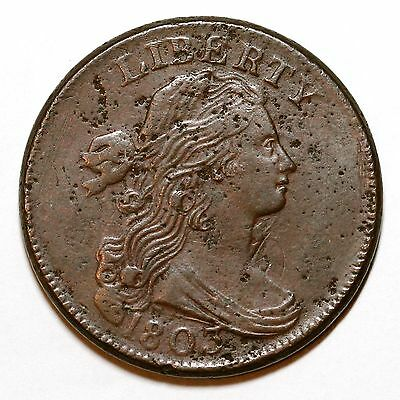 1803 S-245 R-3 Draped Bust Large Cent Coin 1c
