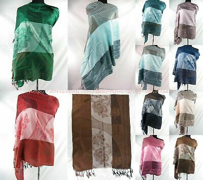 *US Seller* lot of 12 wholesale plain color double loop eternity  infinity scarf
