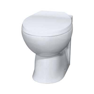 Laura BTW Back To Wall Toilet Pan, Soft-Close Seat & Optional Concealed Cistern