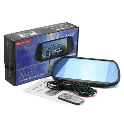 """HD 7"""" TFT LCD Car Bus Rear View Monitor 800*480 2Ch Video For Backup Camera"""