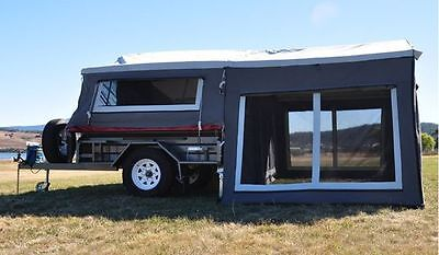 New Camper Semi Offroad Camper  Trailer ... Ready To Go Today.