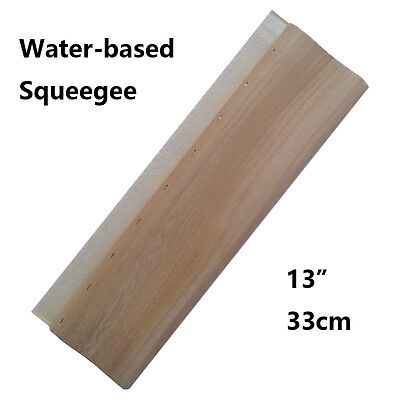 "13"" Silk Screen Printing Squeegee Ink Scraper 33cm Scratch Board  Waterbase- 65"