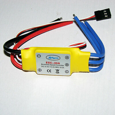 30A brushless speed control R/C airplane & multirotor parts ESC for hobby model