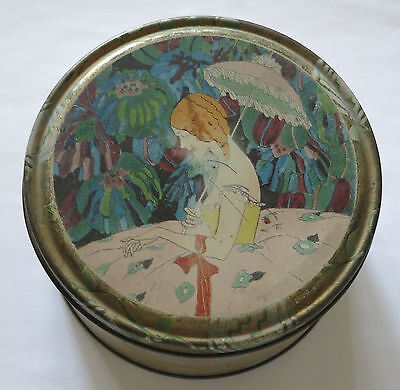 Watkins Perfumer New York Body Powder Vintage Tin